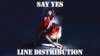 Video SNSD/Girls' Generation - Say Yes [Line Distribution] MP3, 3GP, MP4, WEBM, AVI, FLV Agustus 2018