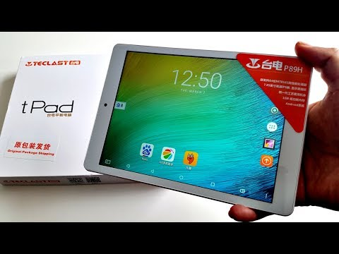 Awesome 8 inch Tablet for under $70 - Teclast tPad P89H Review - Quad-core, 16GB ROM