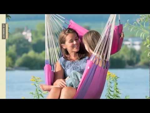 LA SIESTA hammock chair: www.youtube.com/watch?v=sPxjW0Y9MRw