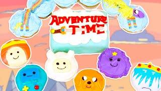 ADVENTURE TIME CUPCAKES- NERDY NUMMIES