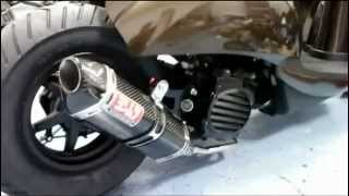 5. Air ride on Honda Metropolitan by Swapt
