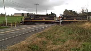 Lakeville (NY) United States  City pictures : Livonia, Avon & Lakeville Excursion Train at South Lima, NY October 18, 2014