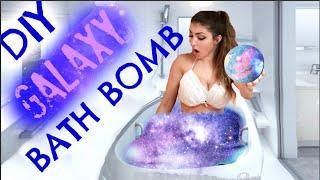 DIY: How To Make a GALAXY Bath Bomb!