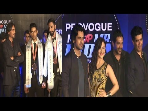 Arjun Rampal, Arjan Bajwa, Elli Avram As Judges At Mr India 2014 Grand Finale