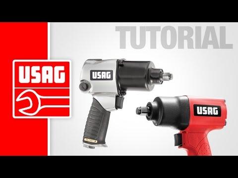 USAG - Tutorial manutenzione avvitatori pneumatici
