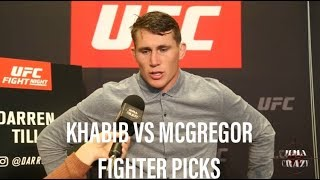 Video UFC 229: Khabib Nurmagomedov vs. Conor McGregor Fighter Picks MP3, 3GP, MP4, WEBM, AVI, FLV Desember 2018