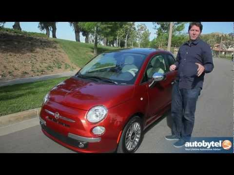 2012 Fiat 500: Video Road Test and Review