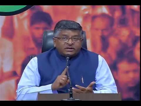 Does Arvind Kejriwal not believe Indian Army on surgical strikes?: Shri Ravi Shankar Prasad