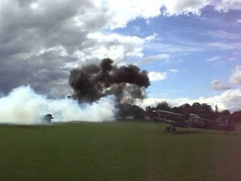 Battle of Britain day 2010 strafing attack
