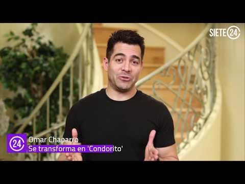 Omar Chaparro es 'Condorito'