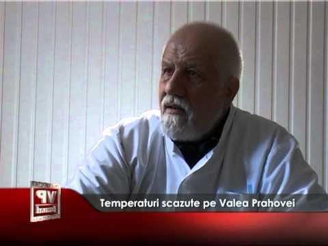 Temperaturi scăzute pe Valea Prahovei