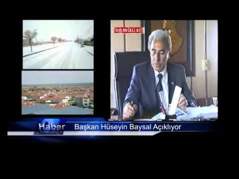 Başkan Baysal Projelerini Anlattı Mayıs 2012