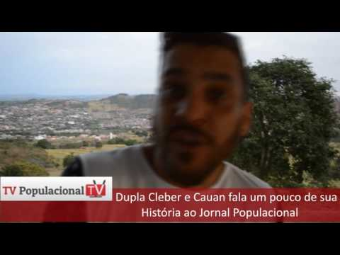 Dupla Cleber e Cauam de Ceres e Nova Glória fala ao Populacional (vídeo)