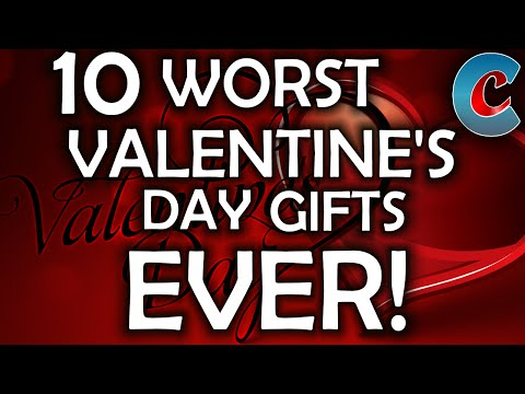 The 10 Worst Valentine's Day Gifts Ever