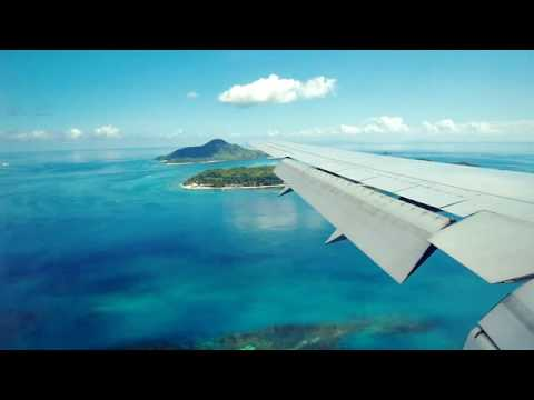 Seychelle-szigetek - landolás