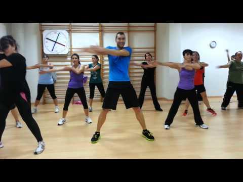 Active dance latino baile agachate