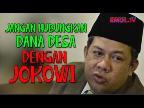 Jangan Hubungkan Dana Desa Dengan Jokowi