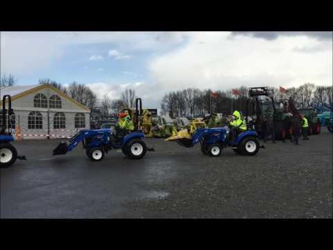 Ritchie Bros veiling maart 2017 in Meppen (видео)