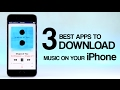TOP 3 Best Apps to Download Free Music on Your iPhone (OFFLINE MUSIC) | 2017 #4 [NEW]