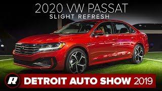 2020 VW Passat gets a new look | Detroit 2019 by Roadshow