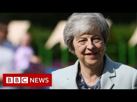 Theresa May's political career in three minutes - BBC News