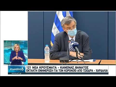 Υπ. Υγείας | Η ενημέρωση του Σωτήρη Τσιόδρα | 04/08/2020 | ΕΡΤ