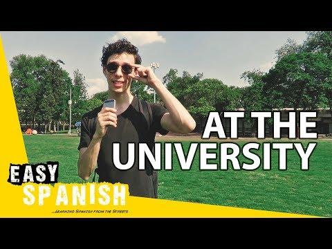 At the university | Super Easy Spanish 1