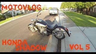 8. Honda Shadow Aero 750 Motovlog Vol5