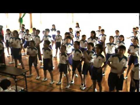 矢作西小学校5年生も一緒にオカザキキテネダンス!