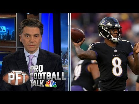 Video: Baltimore Ravens, Indianapolis Colts round out AFC playoff picture | Pro Football Talk | NBC Sports