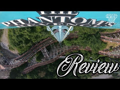 Die Rache Des Achterbahn Phantoms - Phantom's Revenge - Kennywood - Review