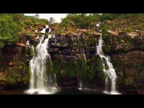 Cachoeira do Poco Encantado - Chapada dos Veadeiros - Goias