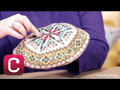 maglia: fair isle o jaquard con molti punti