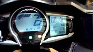 10. 2013 Yamaha FJR1300 Dash Function and start up @ Alcoa Good Times