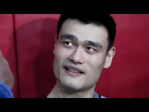 Yao Ming's early expectations: Play like a second rounder