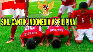 Video MERINDING TIMNAS U22 ! SKILL CANTIK INDONESIA vs FILIPINA  3 - 0 SEA games 17-08-2017 MP3, 3GP, MP4, WEBM, AVI, FLV Juli 2018