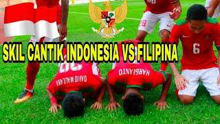 Video MERINDING TIMNAS U22 ! SKILL CANTIK INDONESIA vs FILIPINA  3 - 0 SEA games 17-08-2017 MP3, 3GP, MP4, WEBM, AVI, FLV Maret 2018
