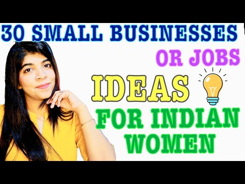 30 Home Based Small Business / Job Ideas for WOMEN in INDIA | Zero Investment | Easy to Start
