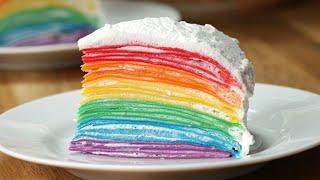 Video Rainbow Crepe Cake: Behind Tasty MP3, 3GP, MP4, WEBM, AVI, FLV November 2018