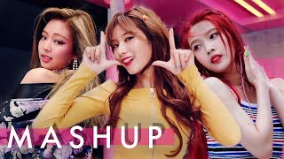 Video TWICE x BLACKPINK x RED VELVET – Likey /As If It's Your Last /Red Flavor  (Likey/마지막처럼/빨간 맛) MASHUP MP3, 3GP, MP4, WEBM, AVI, FLV April 2018