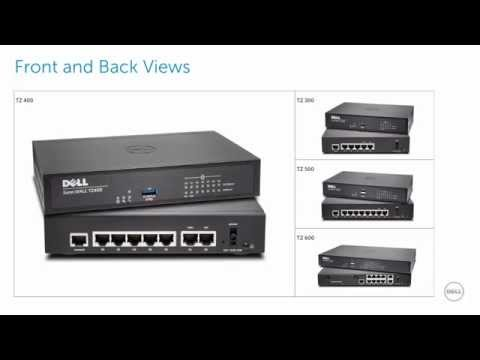 Dell SonicWALL TZ 400 Out of the Box Setup