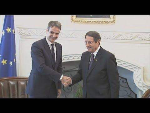 Διαβεβαιώσεις Μητσοτάκη για την στήριξη της ΝΔ στις προσπάθειες για λύση του Κυπριακού