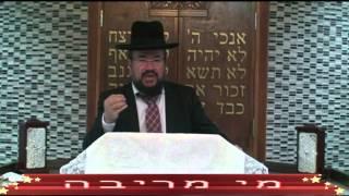 הרב דוד כהן – פרשת חוקת – מי מריבה