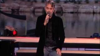 Andrea Bocelli videoclip Bésame Mucho