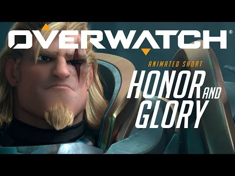 "Overwatch Animated Short | ""Honor and Glory"" (видео)"