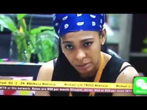#BB9JA TBOSS AND DEBBIE RISE FIGHT
