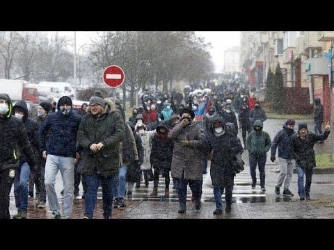 Λευκορωσία: Διαδηλώσεις και επεισόδια στο Μινσκ