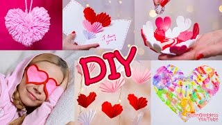 5 DIY Valentine's Day Gifts and Room Decor Ideas