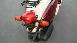 8. Yamaha Vino 50cc 2001 cold start
