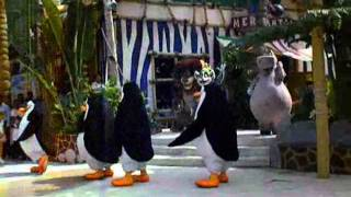 Went to Singapore during the summer of 2010. We went to universal studios and the madagascar characters did a dance show. 